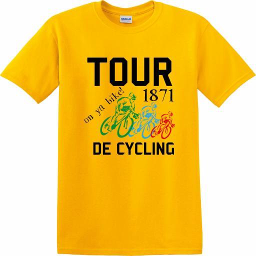 CY016 Tour De Cycling T-Shirt