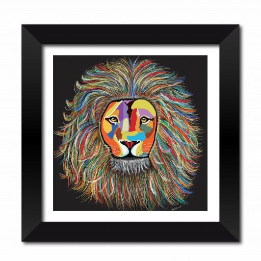 Leo The Lion Framed Print
