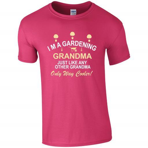I'm a Gardening Grandma, Gardening Humour T-shirt