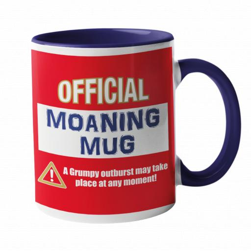 Official Moaning Mug in Arsenal Colours