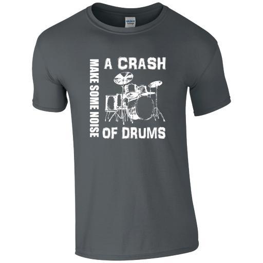 A Crash of Drums Music T-Shirt