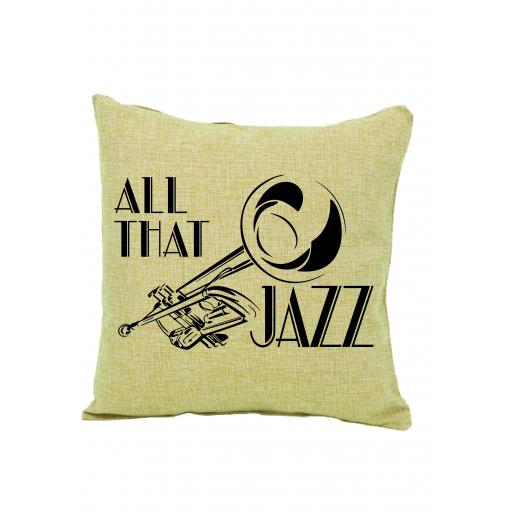 All That Jazz Cushion