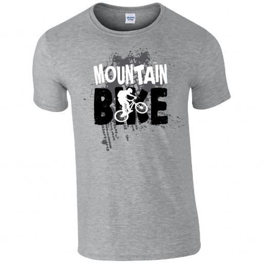 Mountain Bike Abstract TSHIRT