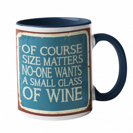 Of course size matters Humour Mug