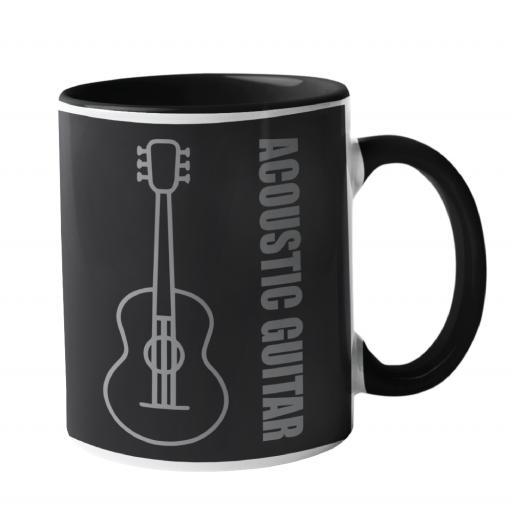 Acoustic guitar Music Mug