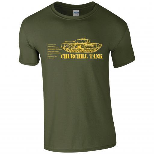 Tank Churchill Tank T-shirt
