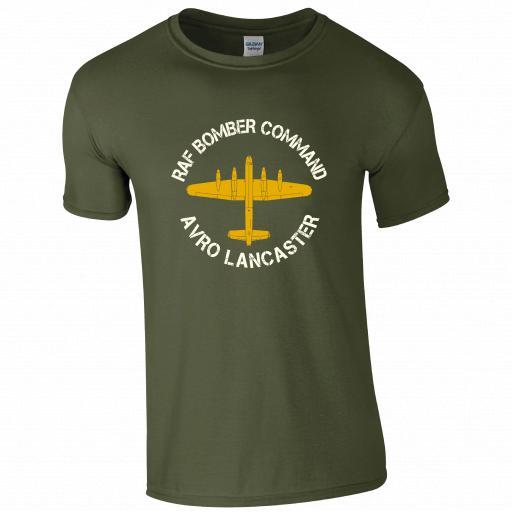 RAF Bomber Command, Avro Lancaster, Pilot Humour T-shirt