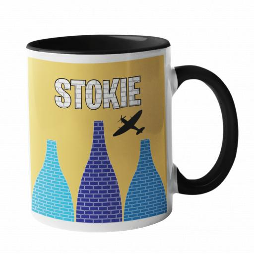 Stokie Kiln and Spitfire Mug