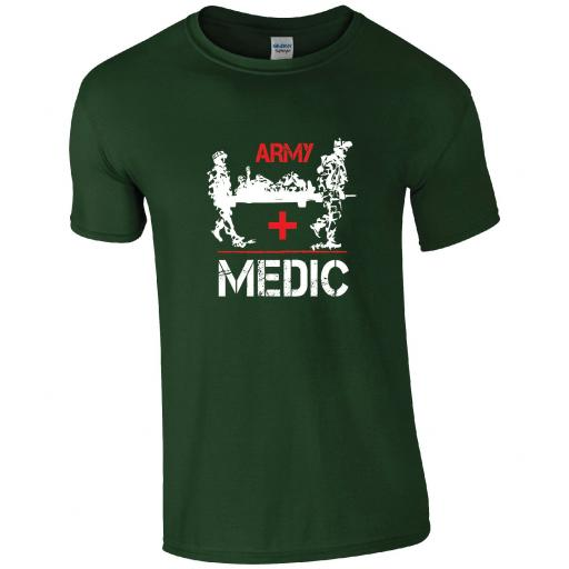 The Royal Army Medical Corps (RAMC)- ARMY MEDIC T-SHIRT