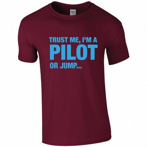 Trust Me I'm a Pilot, Pilot Humour T-shirt