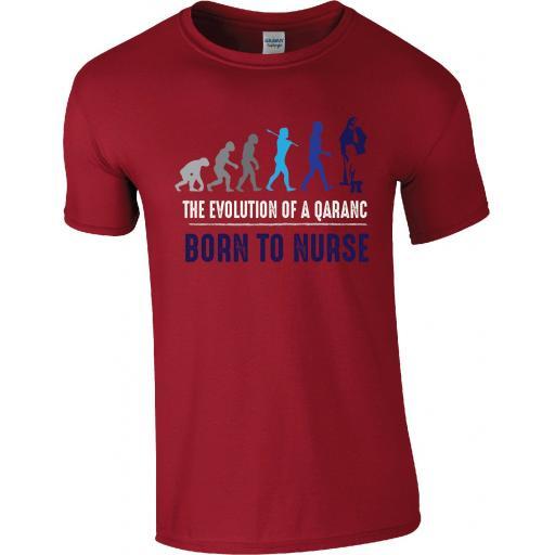 Army Nursing - The Evolution of a QARANC T-Shirt