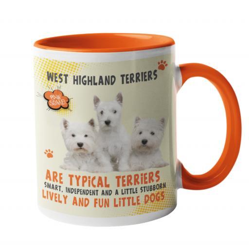 West Highland Terriers Dog Breed Mug