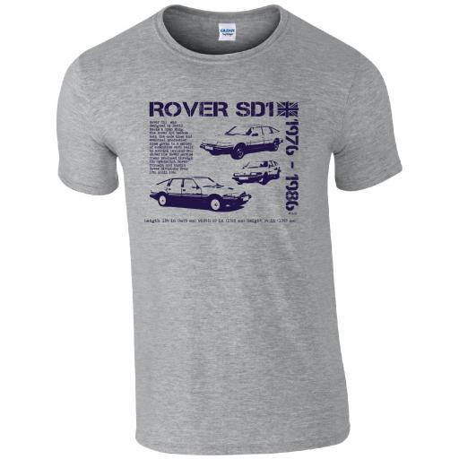 Rover SD1 T-shirt