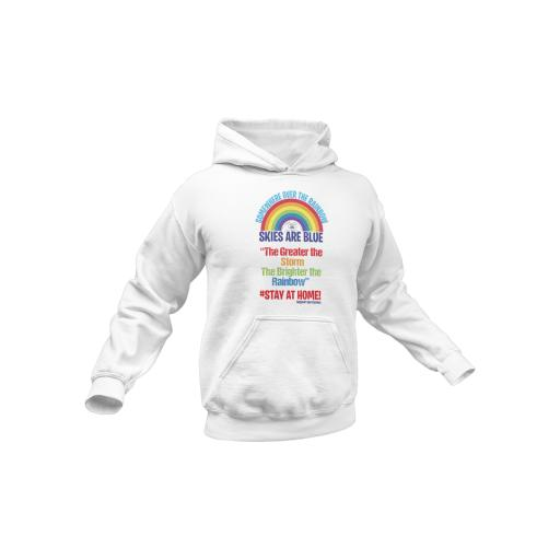 Somewhere over the Rainbow, Skies are Blue Hoodie