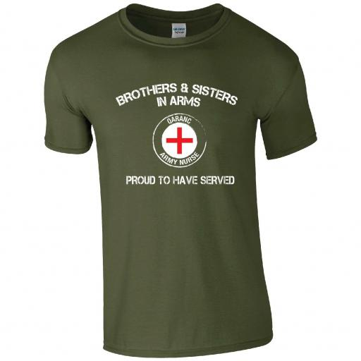 Brothers and Sisters in Arms tshirt