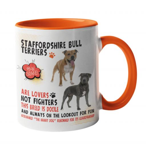 Staffordshire Bull Terrier Dog Breed Mug