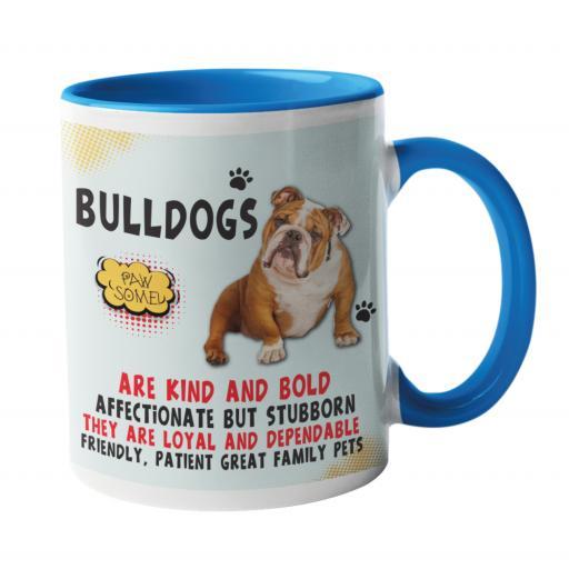 Bulldog Dog Breed Mug