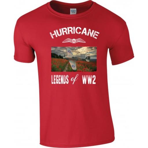 WW2 Legends Remembrance Hurricane T-Shirt