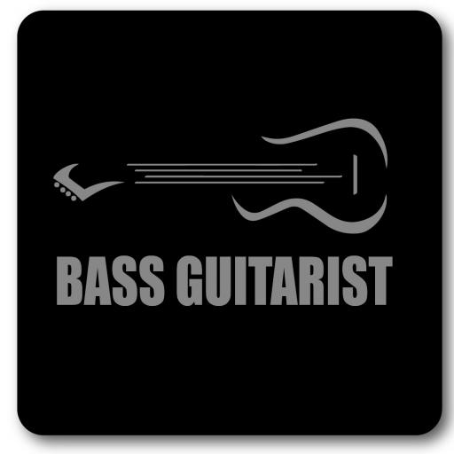 Bass Guitar Wall Sign