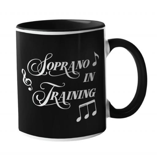 Soprano In Training, Music Mug
