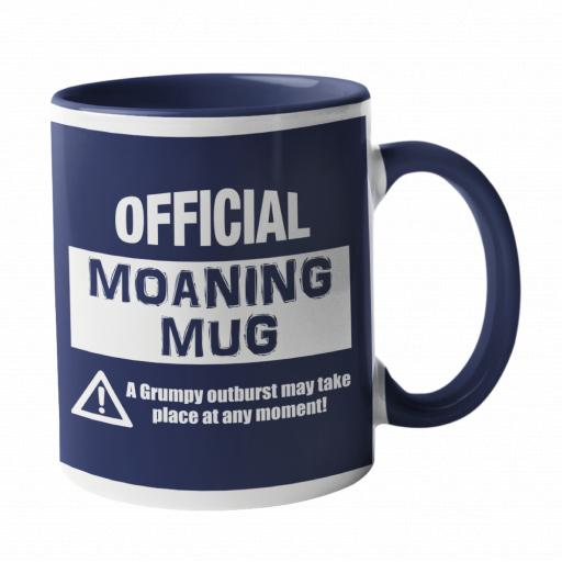 Official Moaning Mug in Spurs Colours