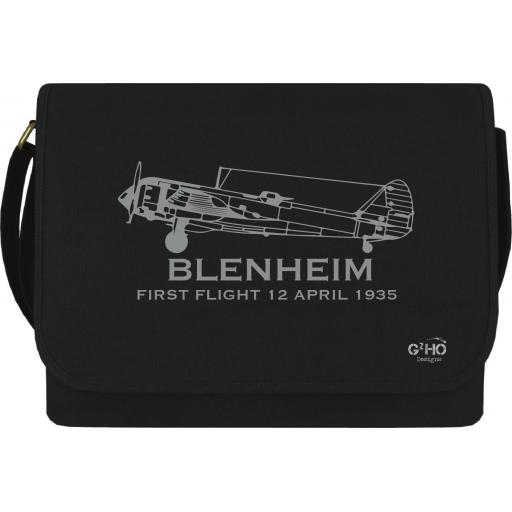 Blenheim Classic Canvas Messenger Bag