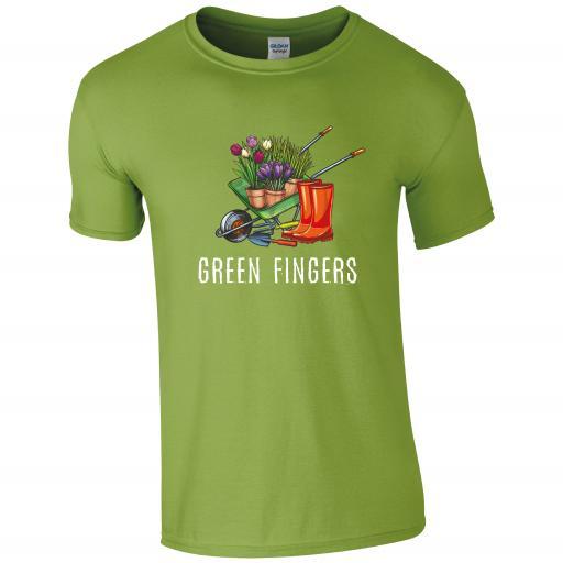 Green Fingers, Gardening Humour T-shirt