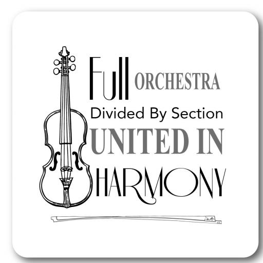 Full Orchestra Wall Sign