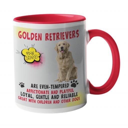 Golden Retrievers Dog Breed Mug