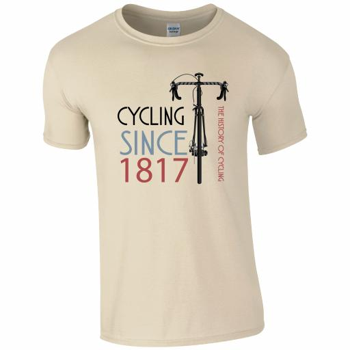The History of Cycling T-Shirt