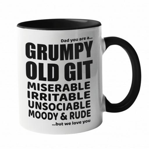 Dad you are a... Grumpy Old Git Mug