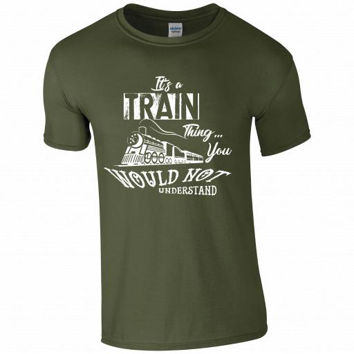 It's a Train thing, you would no understand, The History of Trains T-Shirt