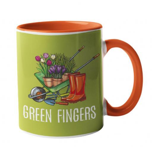 Green Fingers Gardening Mug