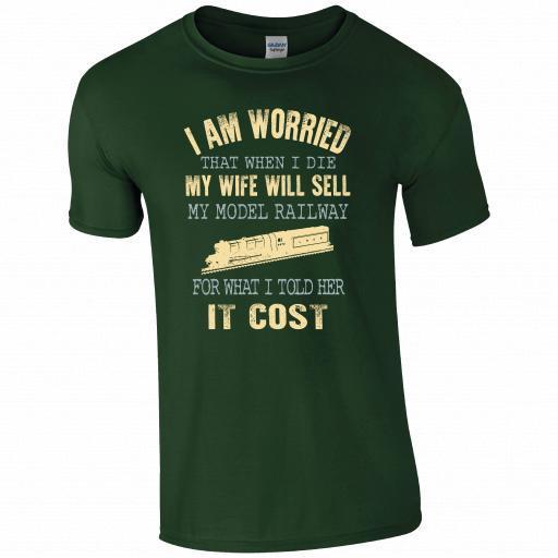I am worried T-shirt