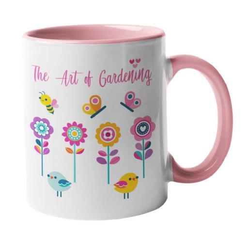 The Art of Gardening Mug