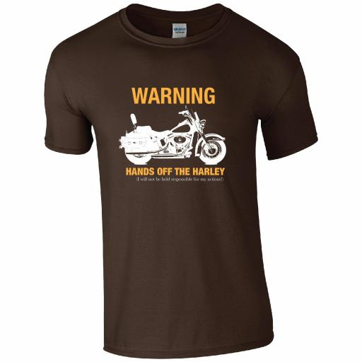 Hands off my Harley T-shirt
