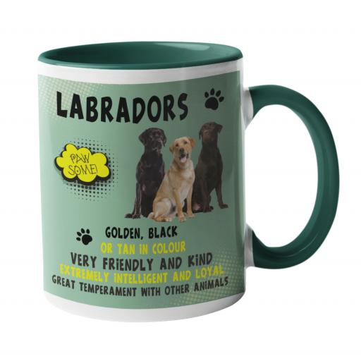 Labrador Dog Breed Mug