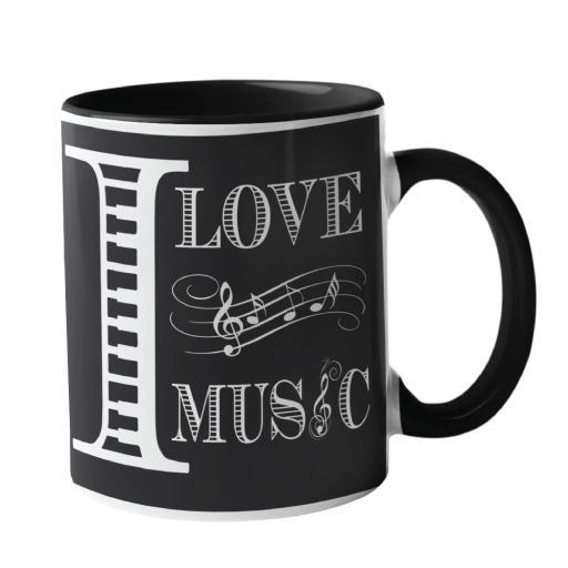I Love Music, Music Mug