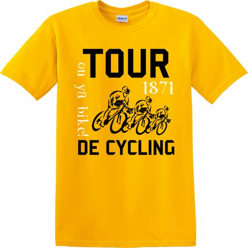 Tour De Cycling Humour T-Shirt