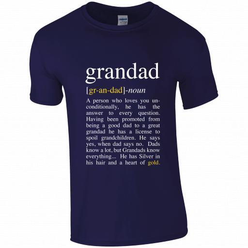 Noun - Gr-an-dad T-Shirt