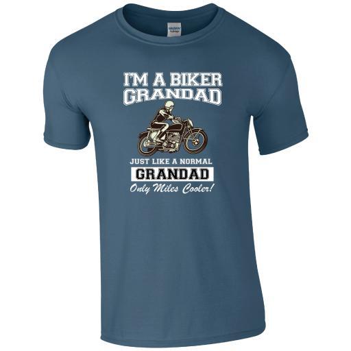 I'm a Biker Grandad T-Shirt
