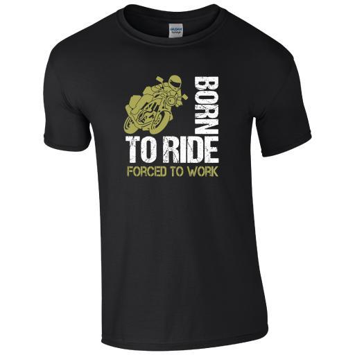 Born to Ride Motorbike T-Shirt