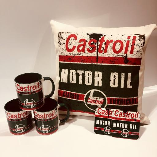 Castroil motor oil gift set