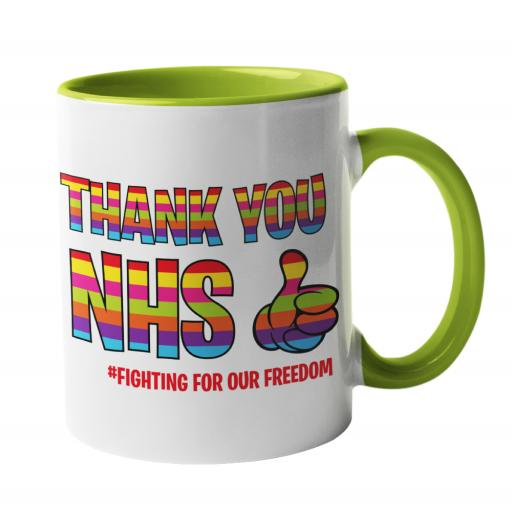 Thank you NHS Rainbow Mug