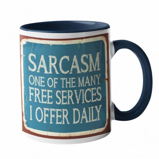 Sarcasm Humour Mug