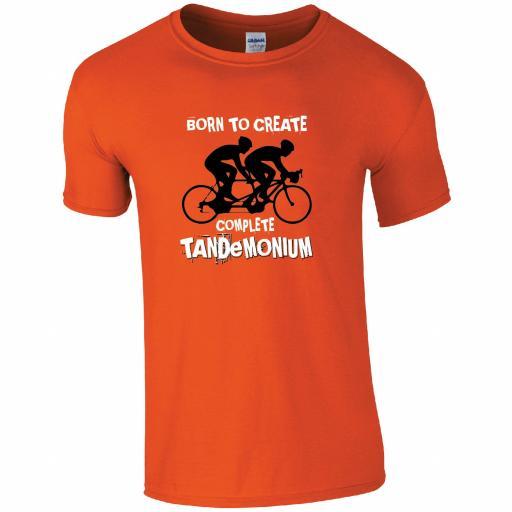Tandem - Born to create complete tandemonium t-shirt