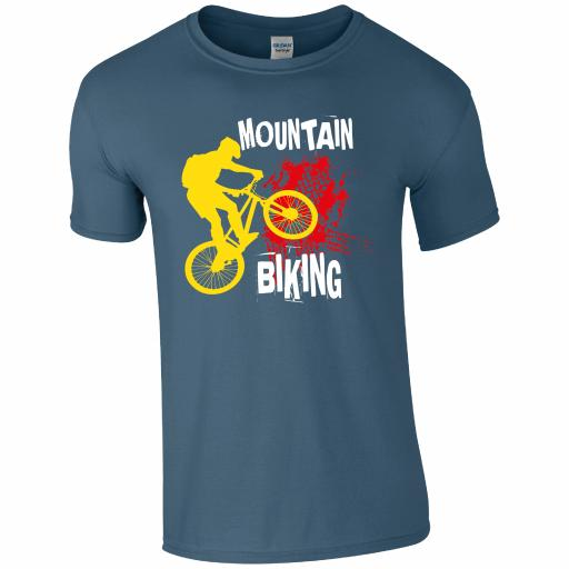 CY003 Mountain Biking T-Shirt