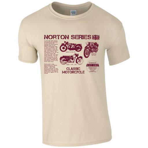 Norton Series Classic Motorbike T-Shirt