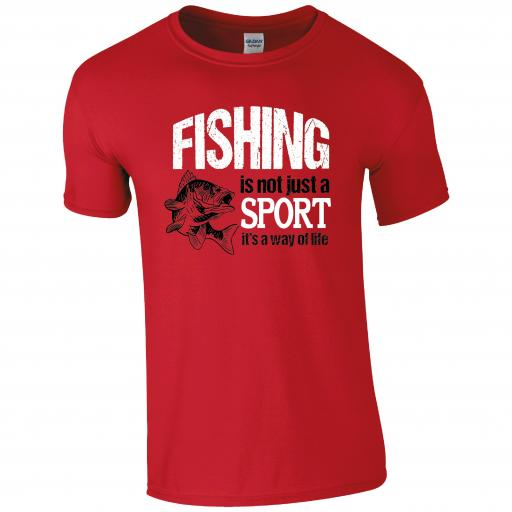 Fishing is not just a sport, it's a way of life, Fishing Humour T-shirt