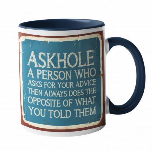 AskHole Humour Mug